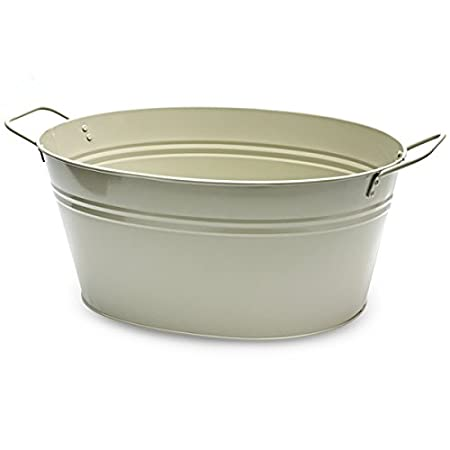 reindeer tub metal bucket vine tubs sweet drinks planters s large for galvanized buckets potato
