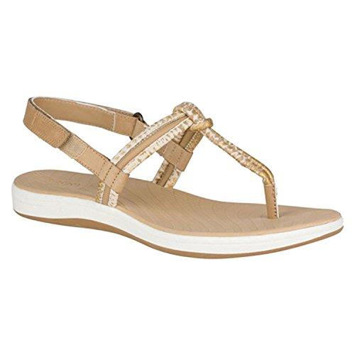 Sperry Womens Seabrook Elsie, Linen/Ikat Python, Size 7.5 Linen Leather Footwear