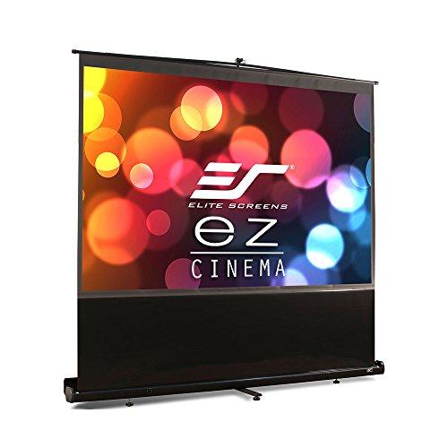Elite Manual - Elite Screens ezCinema Series, 100-INCH 4:3, Manual Pull Up, Movie Home Theater 8K / 4K Ultra HD 3D Ready, 2-YEAR WARRANTY, F100NWV