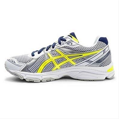 hot sale online 61c12 2c5d7 Asics Gel Galaxy 7 Gs, Chaussures de running mixte enfant taille 4 5 Homme  White