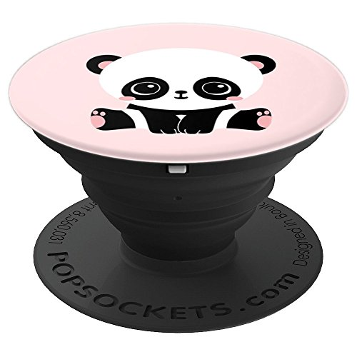 Cute Kawaii Baby Panda Light Pink Pop Socket Love Animals - PopSockets Grip and Stand for Phones and Tablets