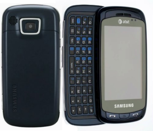 Samsung SGH-A877 Impression 3G GSM Cell Phone Black AT&T ()
