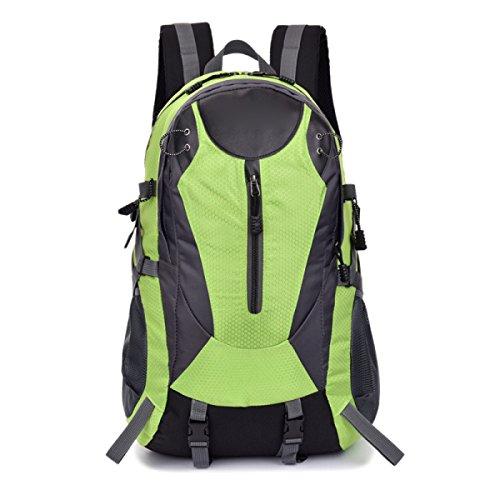Mode Outdoor Umhängetasche Klettern Wasserdicht Breathable Multi - Zweck Reisetasche,Red Green