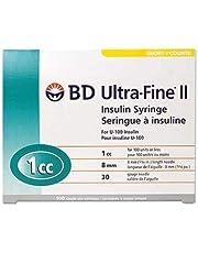30G X 5/16 Inch 1cc Box of 100 Syringe (BD 320469) Becton Dickinson