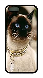iPhone 5S Case, iPhone 5S Cases -Animals 003 TPU Rubber Soft Case Back Cover for iPhone 5/5S šCBlack