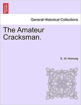 Book The Amateur Cracksman.
