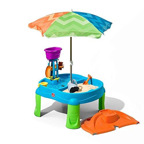 Step 2 Direkt am strand Spritzer Sand und Wassertisch (18+ Monate)