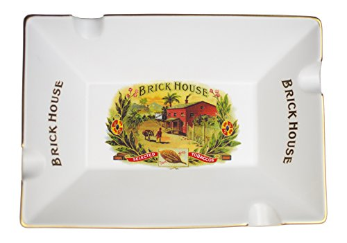 Davidoff Cigar Accessories - Brickhouse Limited Edition J.C Newman Porcelain Cigar Ashtray