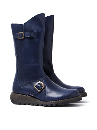 Rug 2 Blue Womens Mes Boots Fly London wX08qS1