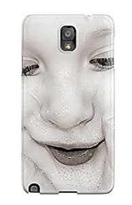 Jalik Davis Premium Protective Hard Case For Galaxy Note 3- Nice Design - Cute Little Child Baby