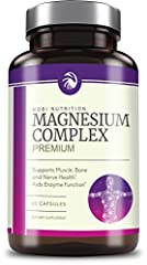 """""""Our high-absorption magnesium capsules are just what the dr. ordered for natural support of healthy bone structure, and healthy muscle and nerve function. Chelated with amino acids for maximum bioavailability, these supplement pills will nat..."""