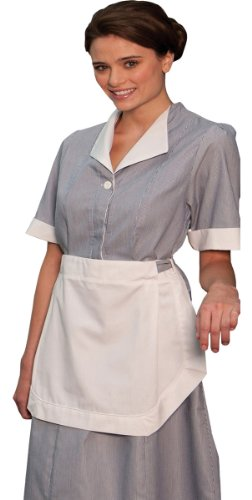Ed Garments Junior Cord Housekeeping Dress-Dark -