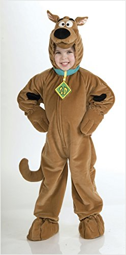 Scooby - Doo Child's Deluxe Scooby Costume, Medium