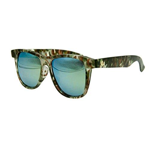Vhccirt Classic Wayfarer Sunglasses Camouflage Full Frame Oval Colorful Lens Polarized - Camo Sunglasses Wayfarer