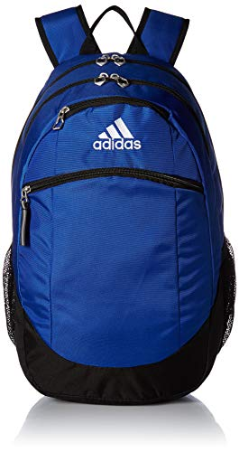 adidas Unisex Striker II Team Backpack, Bold Blue/Black/White, One Size
