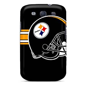 Best Hard Phone Cover For Samsung Galaxy S3 (oXy10026STLW) Unique Design Colorful Pittsburgh Steelers Pictures