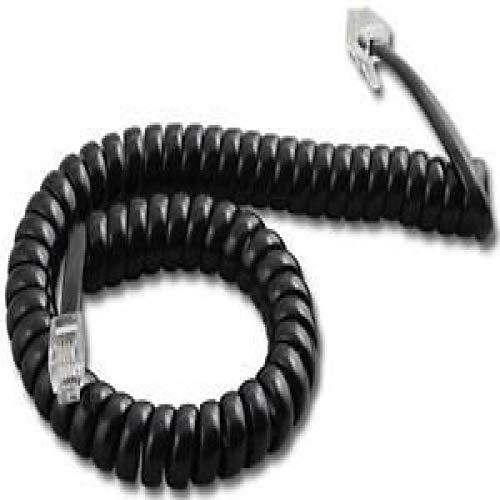 Polycom SoundPoint 9 ft. Black Handset Cord For IP 301, 501, 601, 670, 321, 331, 335, 450, 550, 560, 650 Phones