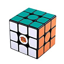 PeleusTech® Gans 3-57 Ganspuzzle III 57mm 3x3x3 Speed Cube Magic Cube - Black