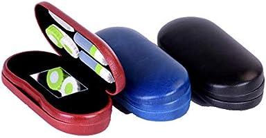 RYN Estuche Gafas Y Lentillas 2 En 1 Estuche para Lentes De Contacto De Viaje/Incluye Pinzas Y Aplicador: Amazon.es: Hogar