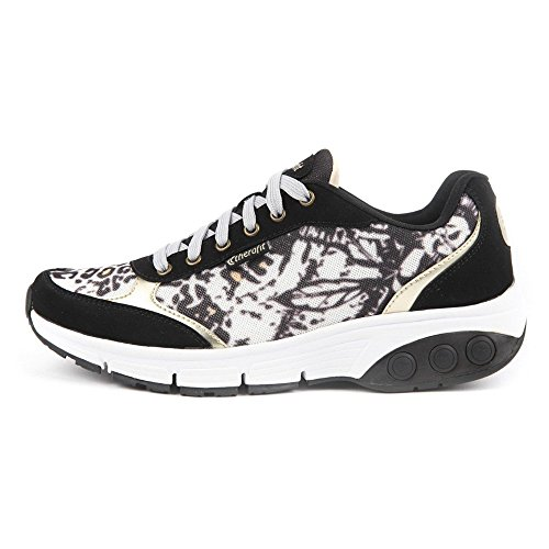 M sneakers 9 and Pattern athletic THERAFIT Women's shoes Ginger 5 Gold Black qwzxtHC