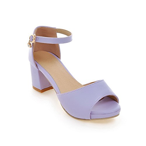 Size Mini Womens ASL05178 Lining BalaMasa Purple Urethane Dress Sandals Cold dqIw8Xg