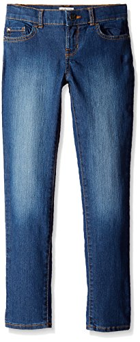 The Children's Place Big Girls' Super Skinny Jean, Victory Blue, 10