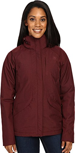 136d61f12e12 The North Face Women s Inlux Insulated Jacket Deep Garnet Red Heather  (Prior Season) Large