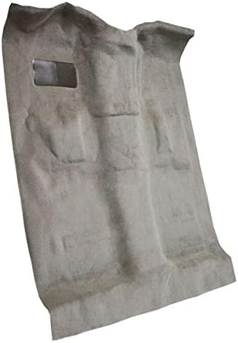 1500 8075-Medium Grey Plush Cut Pile ACC Replacement Carpet Kit for 1999 to 2006 GMC Standard Cab Pickup Truck
