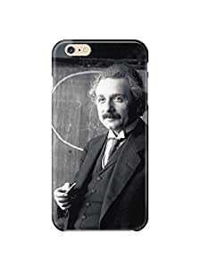 """i6p 0491 Albert Einstein Glossy Case Cover For IPHONE 6 PLUS (5.5"""") by runtopwell"""