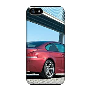 New Snap-on Goodfashions2001 Skin Cases Covers Compatible With Iphone 5/5s- Red Bmw M6 Rear Angle Black Friday