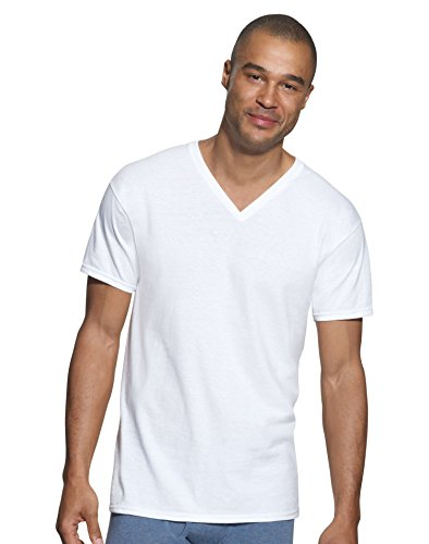 Hanes Ultimate Men's 3-Pack V-Neck Tee, White, XX-Large from Hanes Ultimate