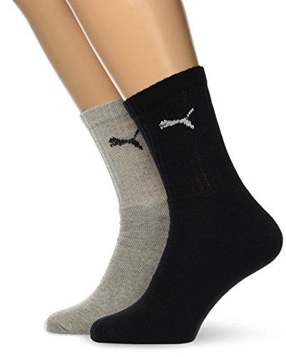 PUMA 6 Paar Socken Cush Crew Sportsocken Tennis Socken Gr. 35-46 Unisex