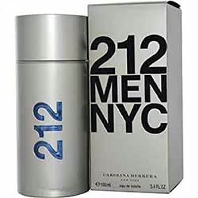 212 By Carolina Herrera Edt Spray/FN126544/3.4 oz/men/