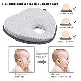 LONOY Newborn Baby Head Shaping Pillow Baby