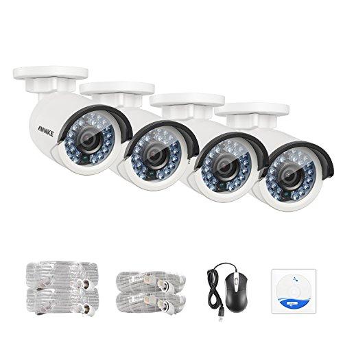 ANNKE (4) 1080P 2.0 Mega pixels IP Network Cameras, 19201080p 1/2.8