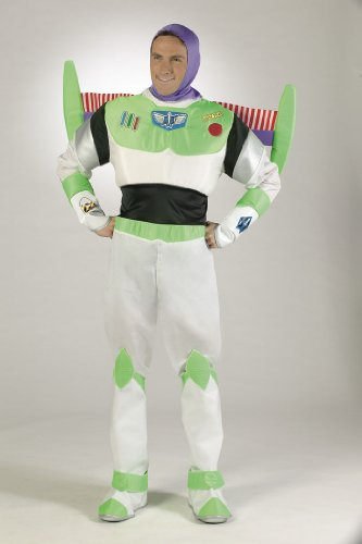 Prestige Edition Buzz Lightyear Adult Costume - Mens XL 42-46