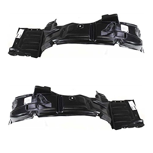 Koolzap For 00-05 Eclipse Front Splash Shield Inner Fender Liner Panel Left & Right SET PAIR