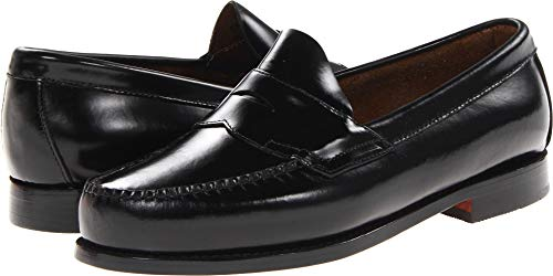 G.H. Bass & Co. Men's Larson Penny Loafer,Black,11 D US