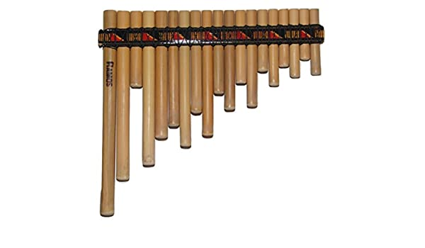 Profesional pequeño tamaño rondador Antara cacerola FLAUTE 19 incluye tubos - tema en EE. UU.: Amazon.es: Instrumentos musicales