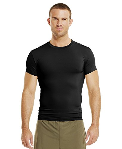 Men's Tactical HeatGear® Compression Shortsleeve T-Shirt Tops by