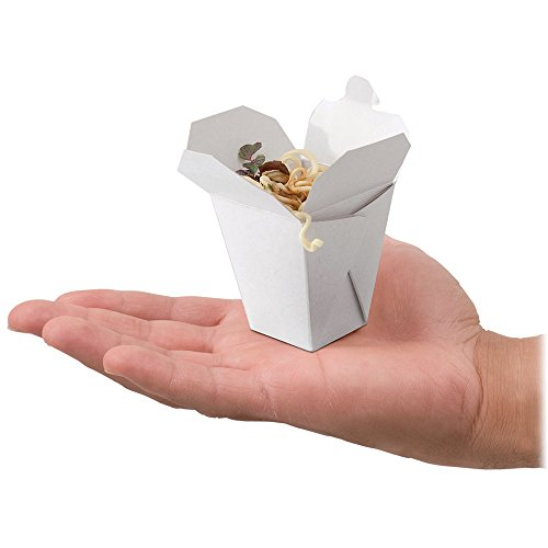 Clear Chinese Take Out Favor Boxes : Compare price to mini chinese take out boxes afscstore