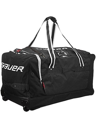 Bauer 950 Wheel Bag Mediumium Black (Bauer Skates Bag)