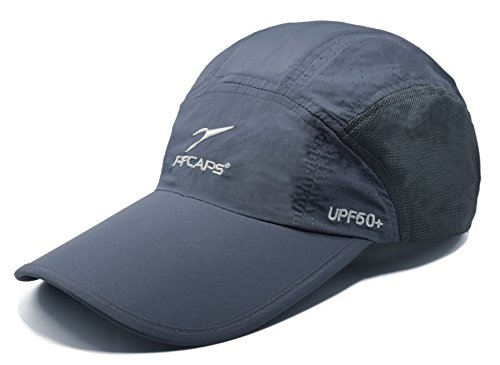 ELLEWIN Unisex Summer Baseball Cap UPF 50+ Sports Long Bill Hat for Big Head
