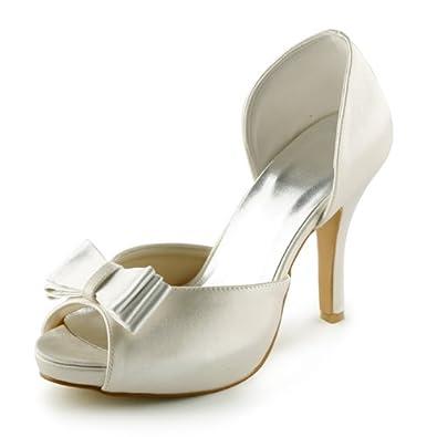 Jia Jia Wedding 37040A chaussures de mariée mariage Escarpins pour femme LKGNDEzao