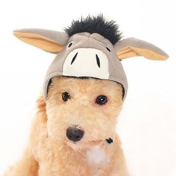 dog halloween costume donkey hat xsmall