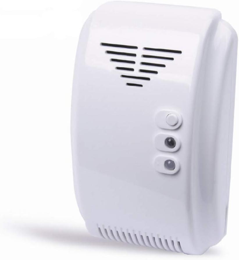 Alarma del Sensor del Detector ER-12V NMBGH Gas con Tienen Sonido y luz de Alarma para Propano Butano GLP Motor Natural Home RV Camper Van Marina del Barco