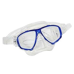 Scuba Choice Diving Dive Snorkel Mask Nearsighted Prescription (-1.0) RX Optical Corrective Lenses, Blue