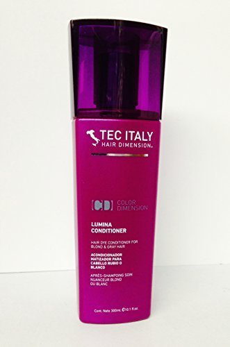 Tec Italy Lumina Conditioner for Blond and Gray Hair 10.1 Oz