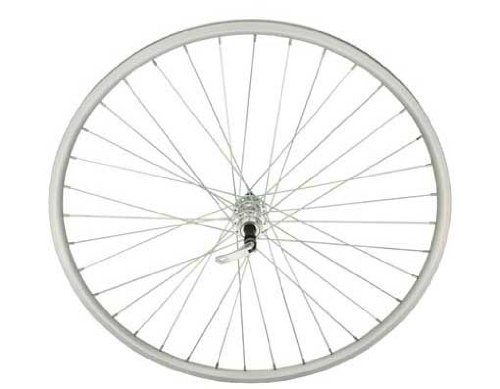 700c Alloy Free Wheel 14G W/Q.R Sliver. Bicycle wheel, bike wheel, 700c bike wheel, 700c bicycle wheel, fixed gear bike, track bike, bike part, bicycle part by Lowrider