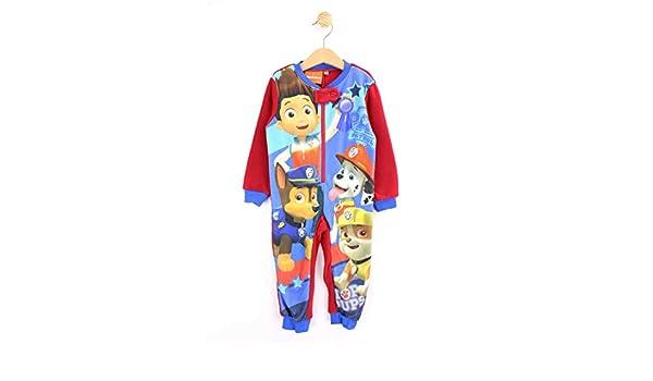 Pijama pelele Patrulla Canina Paw Patrol ROJO TAlla 2: Amazon.es: Ropa y accesorios